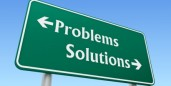 problems solutions street sign