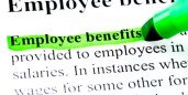 employee benefits green highlight