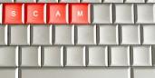 scam on keyboard