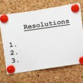 resolutions cork board