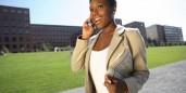 freelancer woman african american