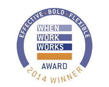 FlexJobs a Winner of 2014 When Work Works Award