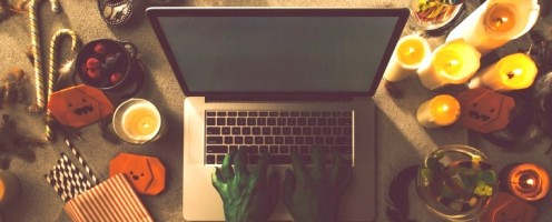 13 of the Scariest Work-from-Home Stock Photos