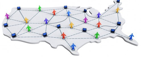 Top 10 States with Telecommuting Jobs