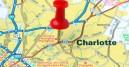 charlotte nc on map