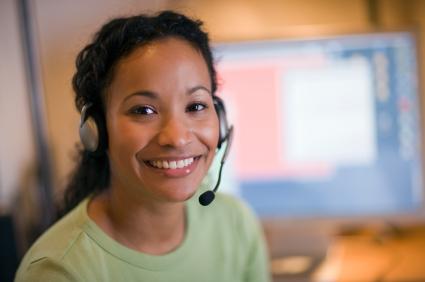At-home customer service job
