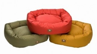 West paw design organic bumper bed for pets