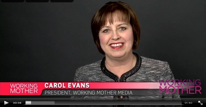 Working Mother Offers Videos for Working Moms