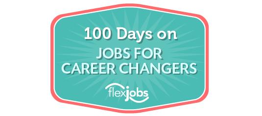 100 days on jobs for career changers BORDER