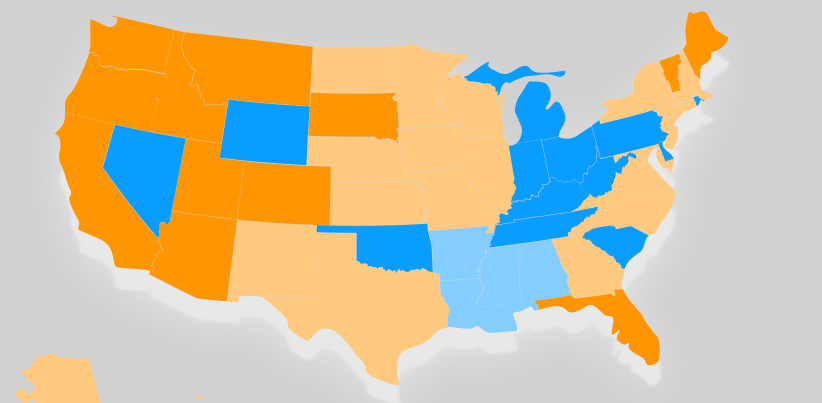 People Who Telecommute Full-Time in All 50 States: Infographic