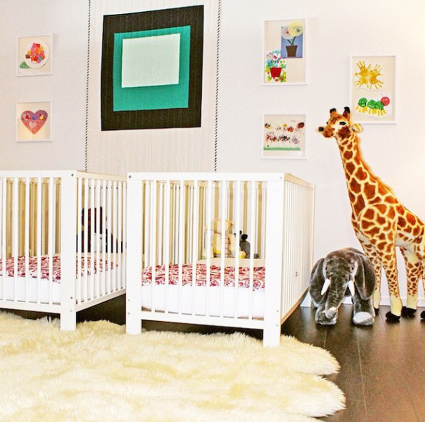 Designer Rachel Zoe Weighs in On Moms and Workplace Flexibility nursery