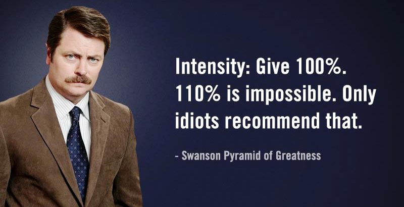 The Ron Swanson Guide to Job Searching