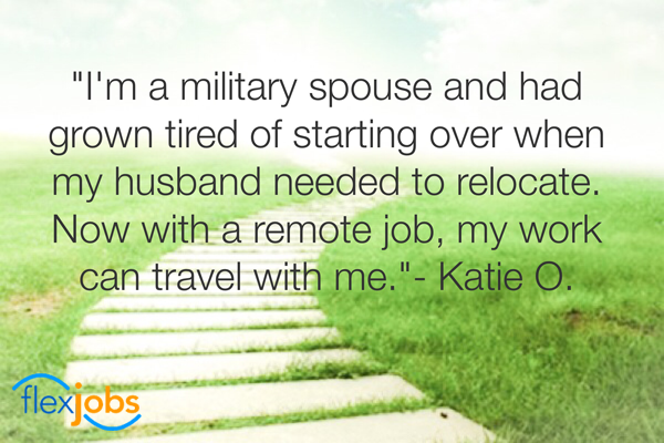 Military Spouse Finds Remote Job Where Location is a Non-Issue