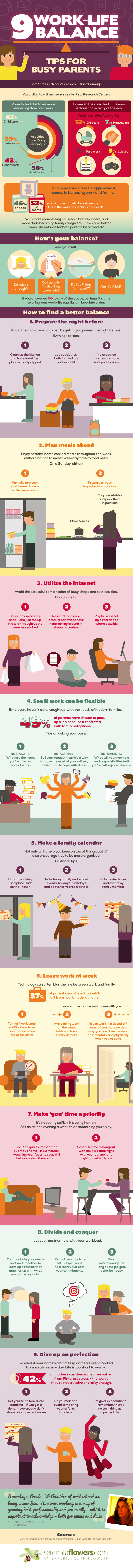 Work-Life Balance Tips for Busy Parents