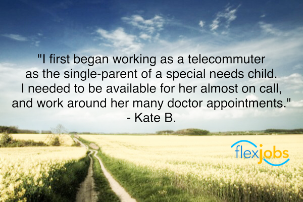 Remote job helps single mom with special needs child flexjobs quote remote job helps single mom with special needs child ccuart