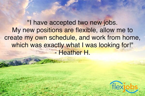 Job Seeker Meets Career Goals with 2 Flexible Jobs
