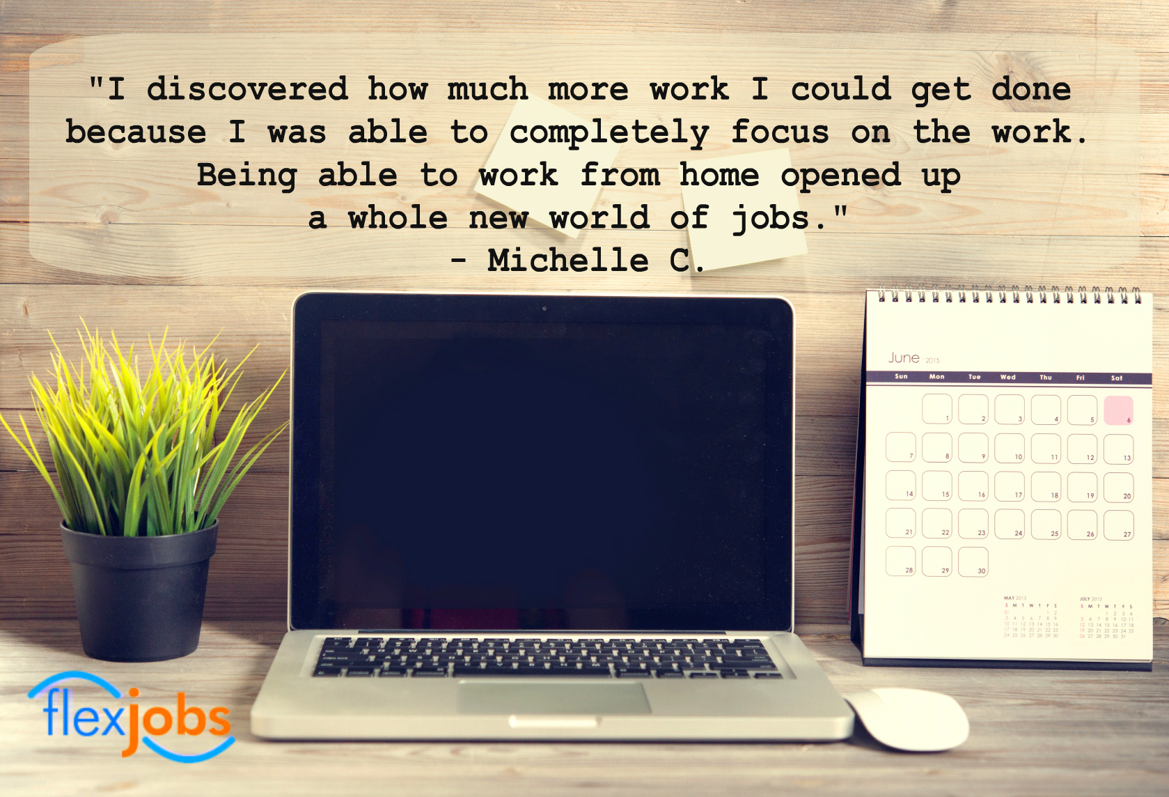 at home worker finds new opportunities a lance job flexjobs michelle c told us she had already discovered the joys of working from home when she became a flexjobs member i wasn t looking for a flexible job
