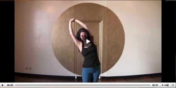 Five Minute Yoga Break