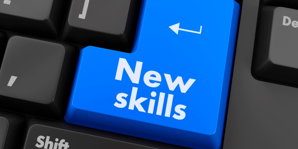New skills computer key to learn new skills online
