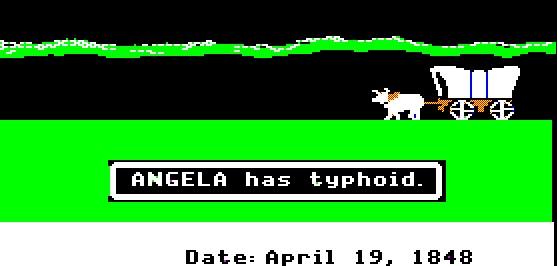 Oregon Trail game is like a millennial job search