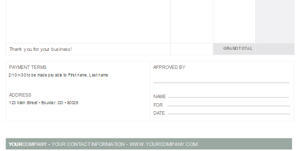 Freelance Client Invoices Everything You Need To Know, Invoice Bottom  How To Invoice Clients