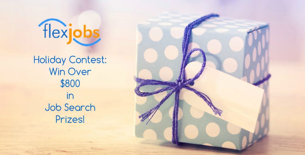 Holiday Contest Win Over 800 in Job Search Prizes