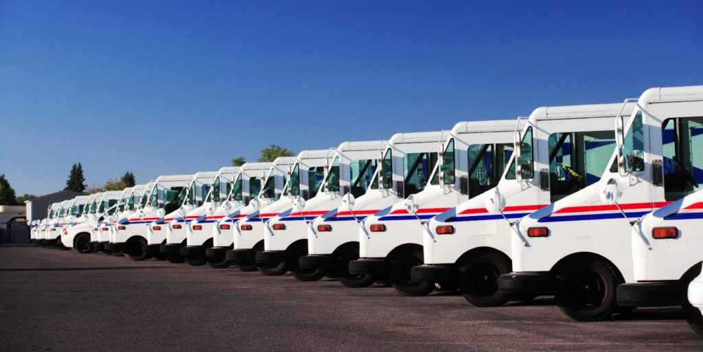 Post office trucks on alert about potential job scams for post office jobs