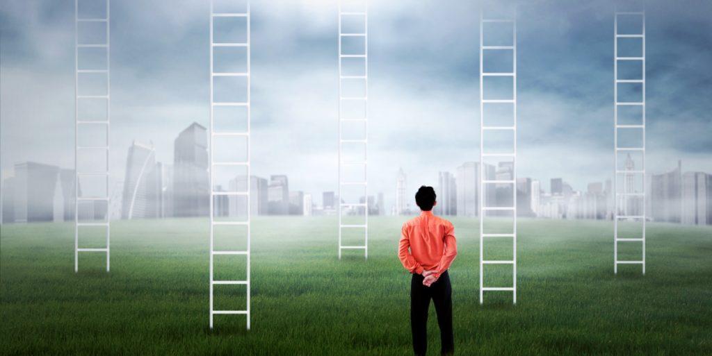 Job seeker in a field setting job search goals