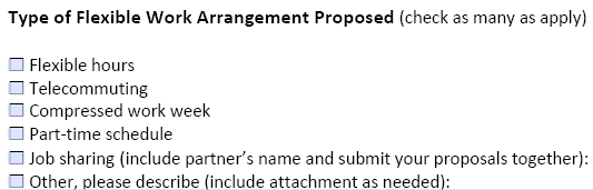 4 things to include in a flexwork proposal flexjobs for Compressed work week proposal template
