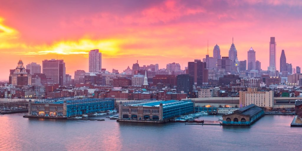 Picture of Philly. Hiring for writing jobs in Philadelphia.