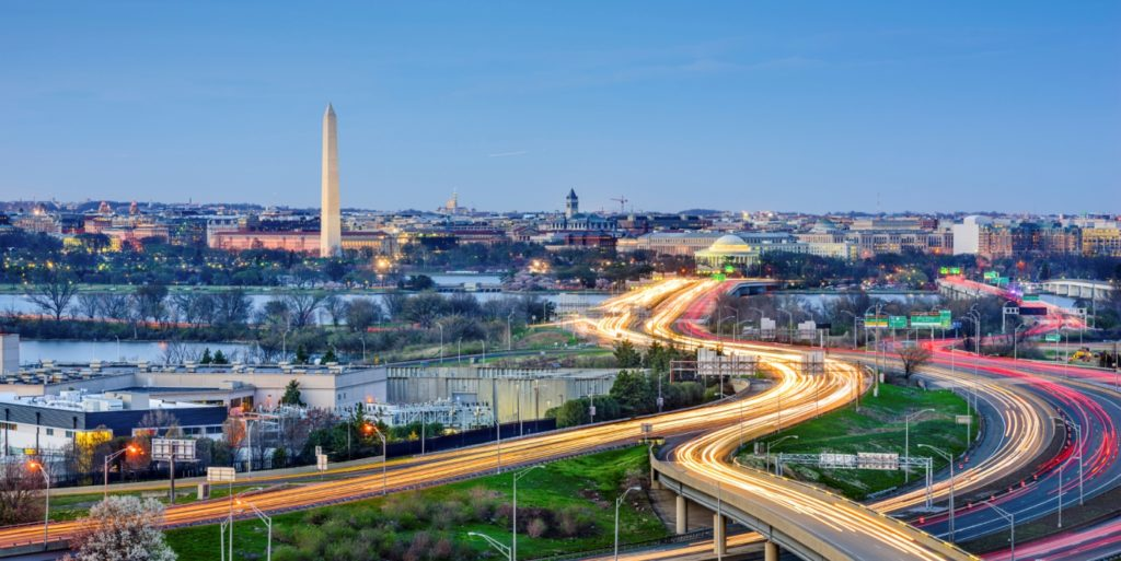 Searching for flexible jobs in Washington, DC.