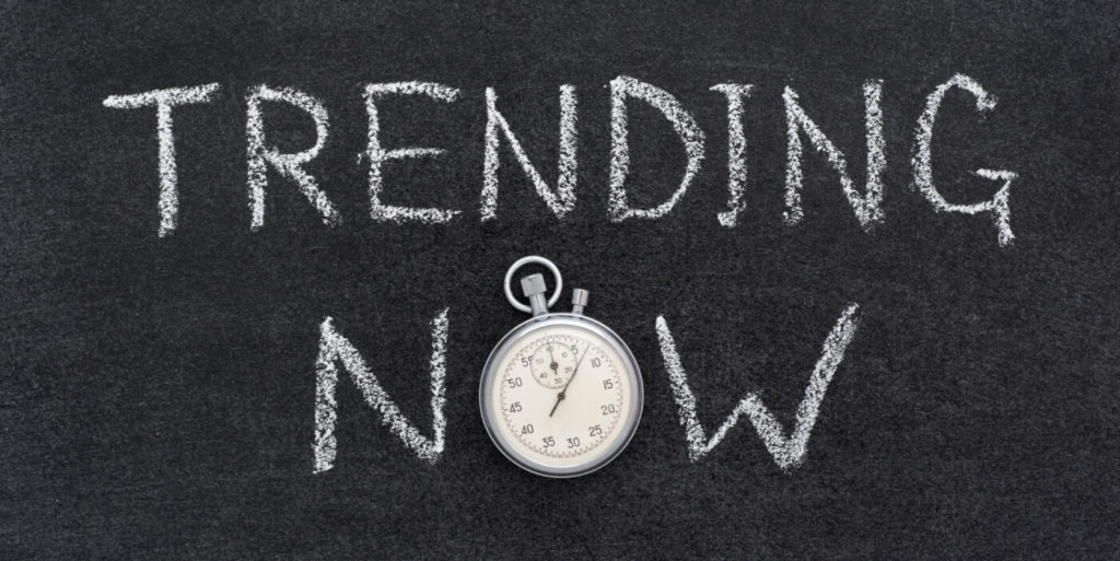 Trending now sign for job search trends