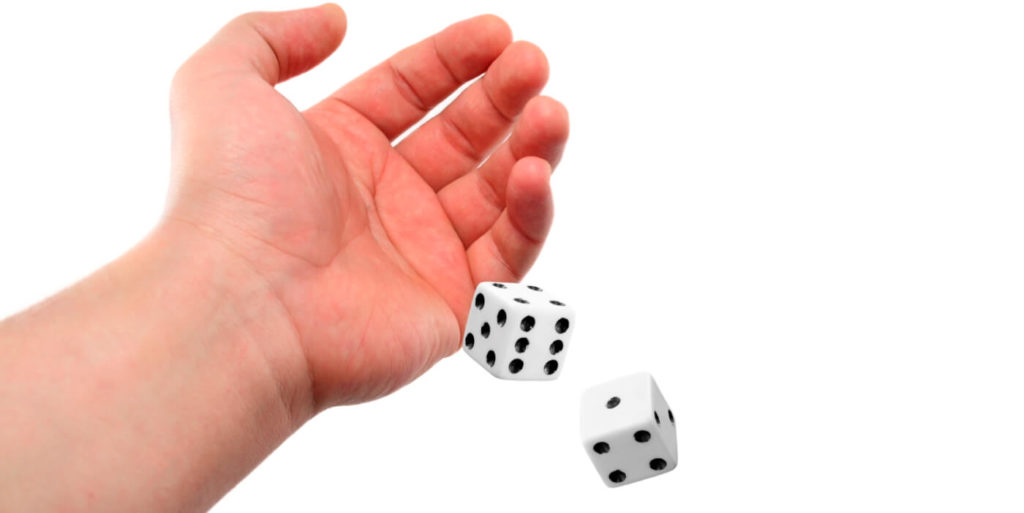 Rolling the dice after a job rejection