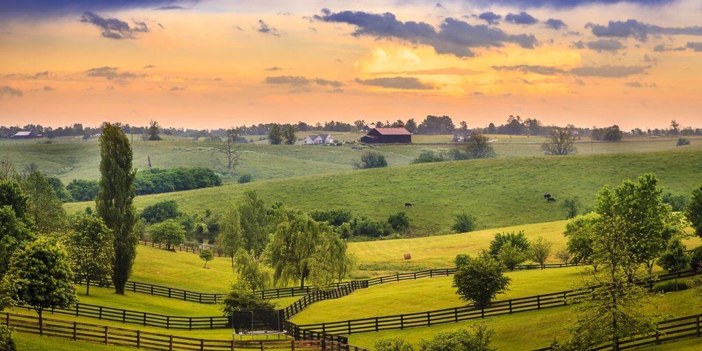 Kentucky landscape, searching for flexible jobs in Kentucky.