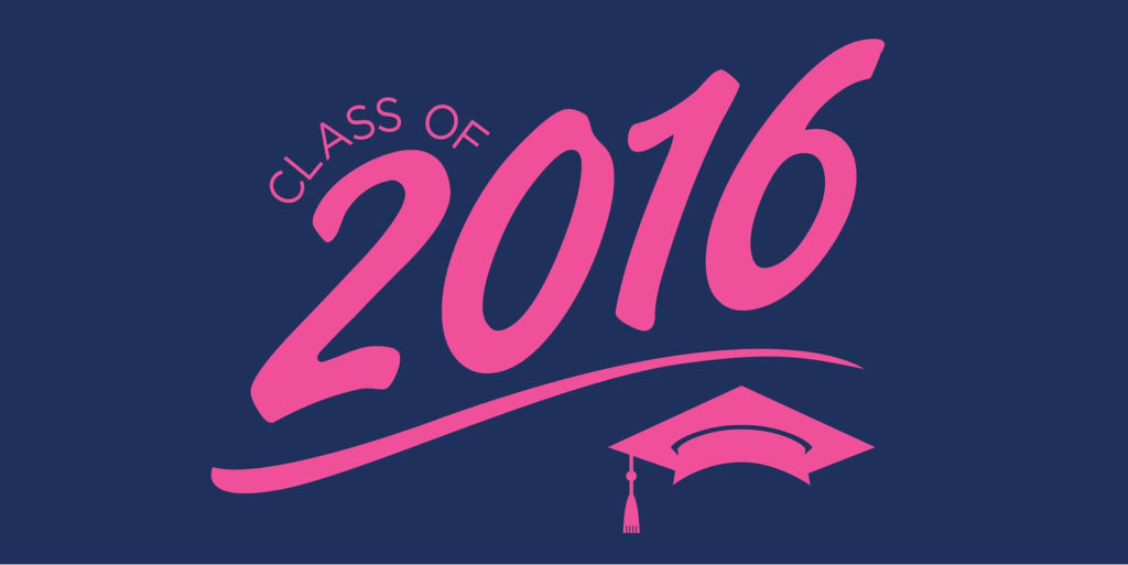 Sign for the class of 2016.