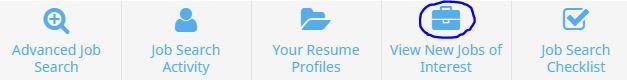 new jobs of interest screenshot