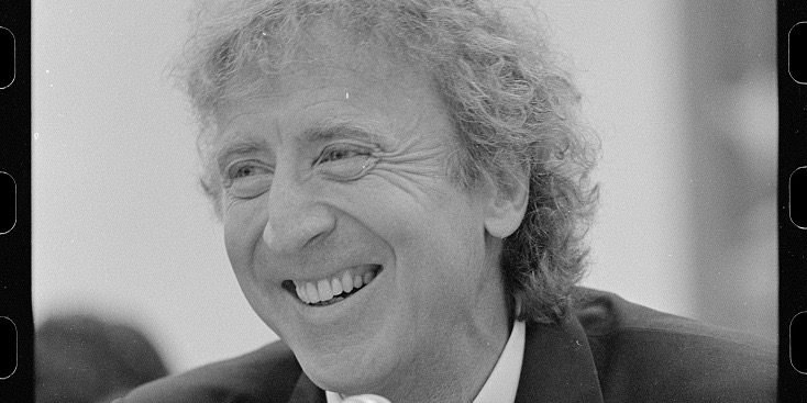 Photo of Gene Wilder with pure imagination