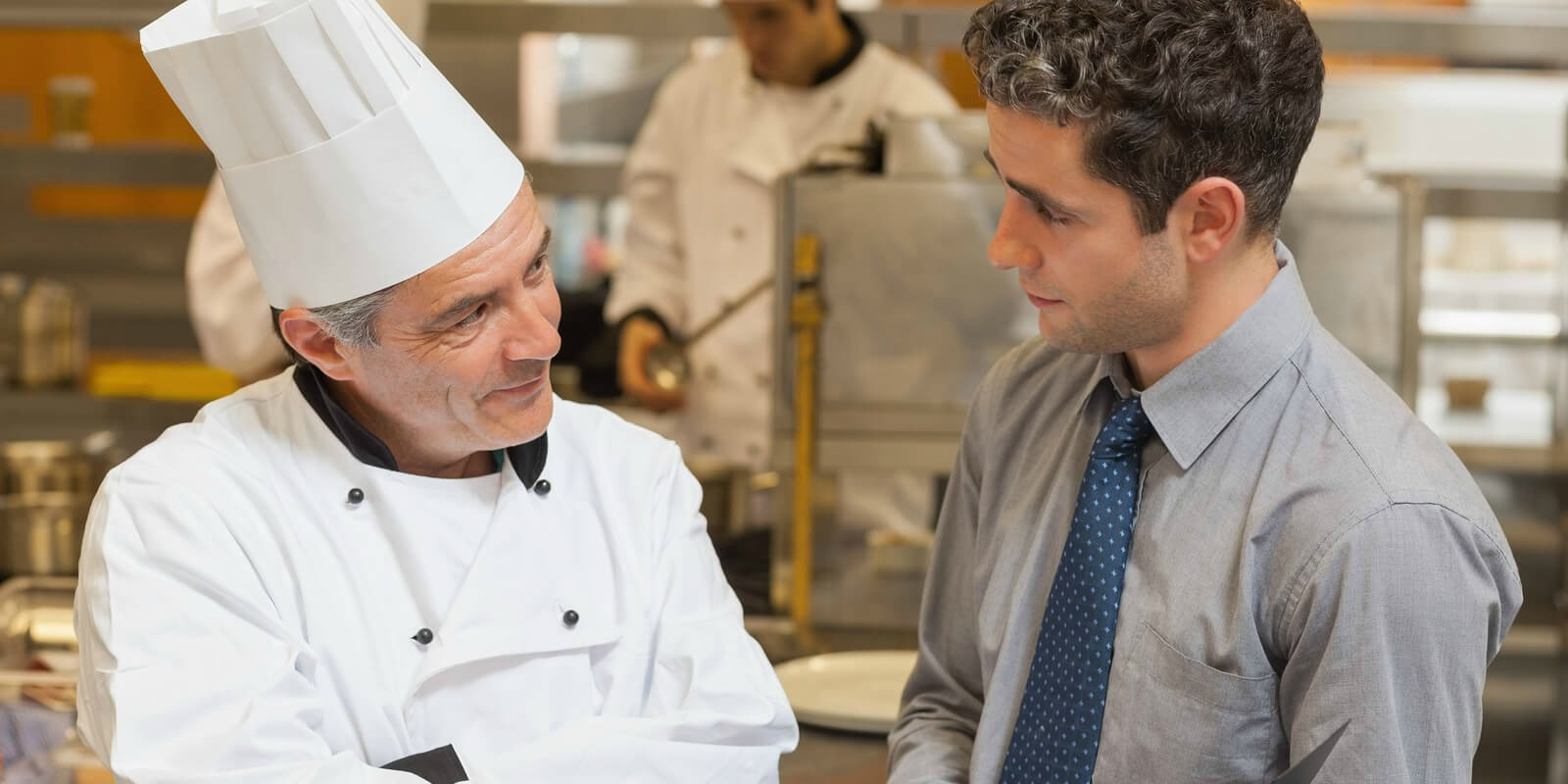 A chef, one of the most egotistical workers