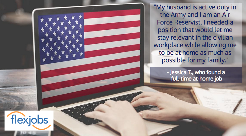 jessica T quote image who supports military family.