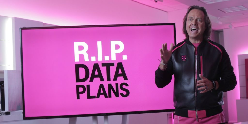 T-Mobile's CEO talking about how to reinvent your career.