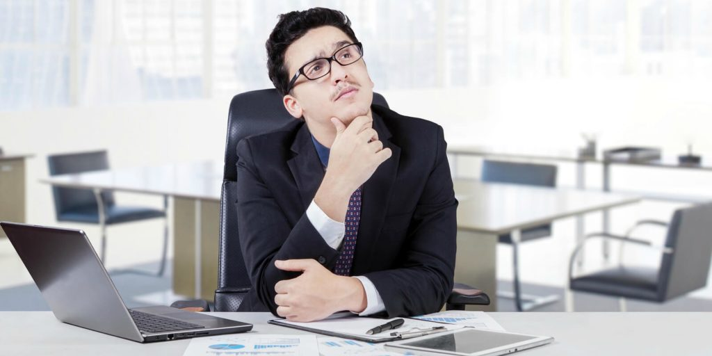 Employer thinking about career advice