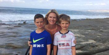 Karen with kids getting a career reboot.