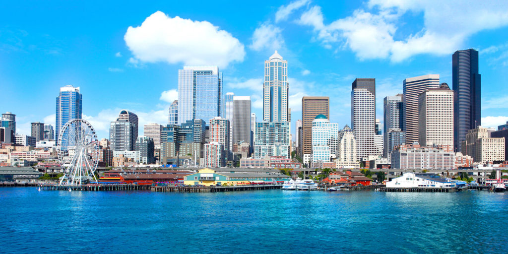 Searching for telecommuting jobs in Seattle.