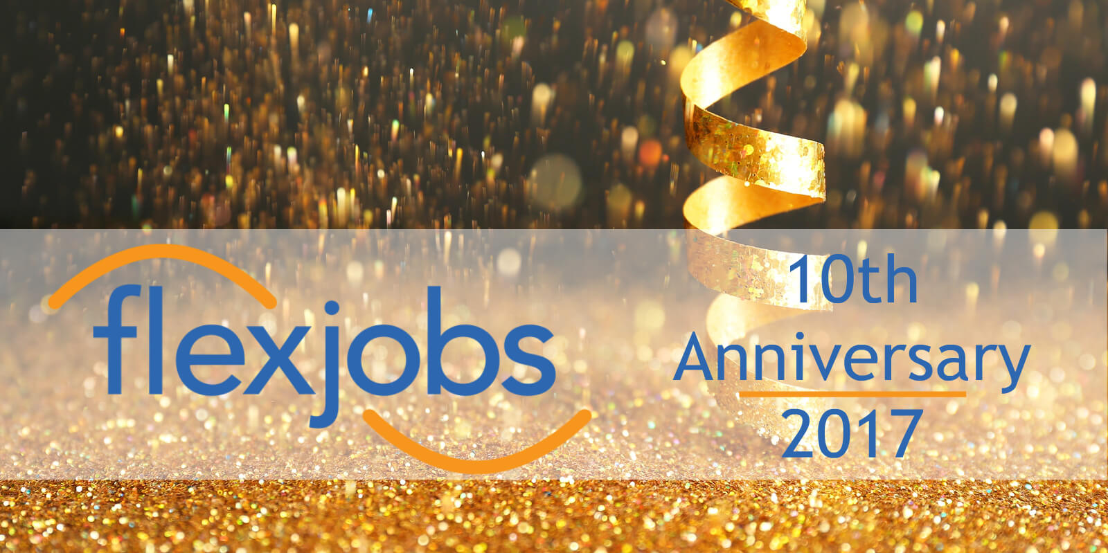 For FlexJobs 10th anniversary, we're celebrating a decade of workplace flexibility.