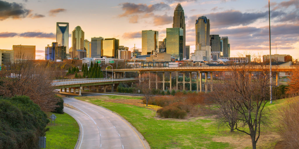 Exploring for flexible jobs in Charlotte, North Carolina.
