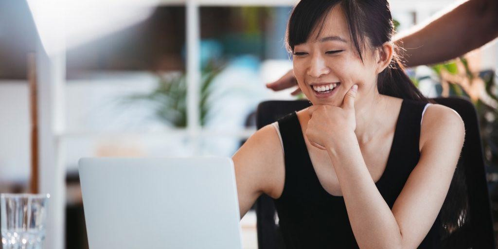 Job seeker who found a virtual job in education.