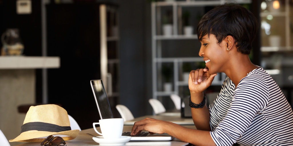 Job seeker checking out unexpected ways to boost your job search.