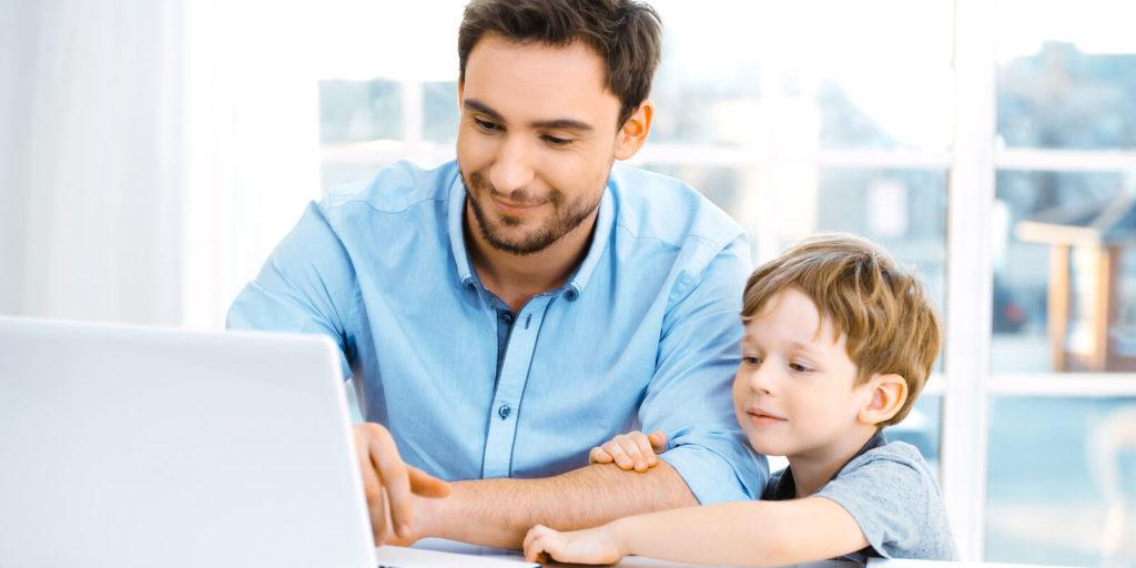 Job seeker looking for a family-friendly job.