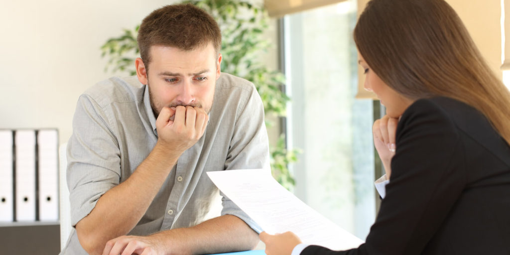 Job seeker nervous about how to disclose a layoff