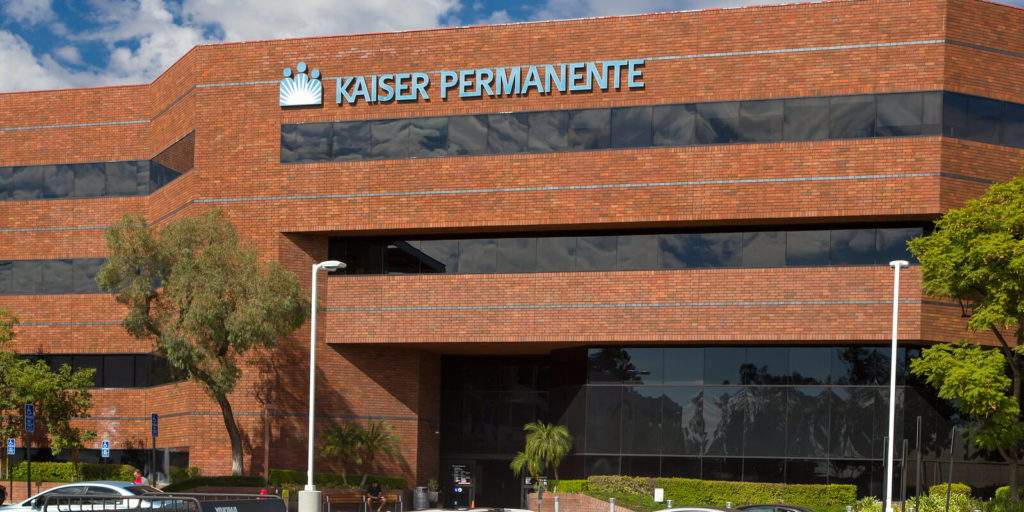 Kaiser Permanente building, of several companies hiring for part-time consulting jobs.